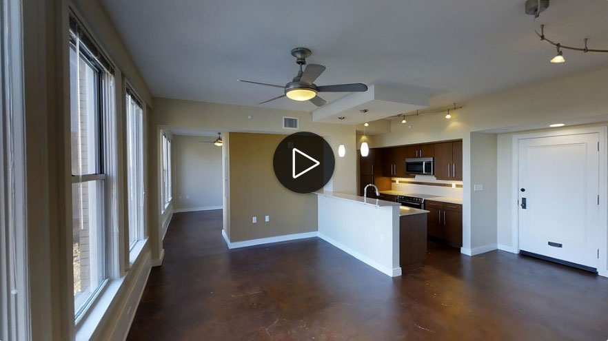 Downtown Tulsa 1 Bedroom Apartment 3D Tour