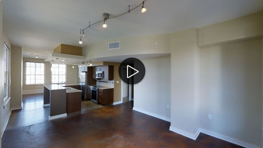 Downtown Tulsa 2 Bedroom Apartment 3D Tour